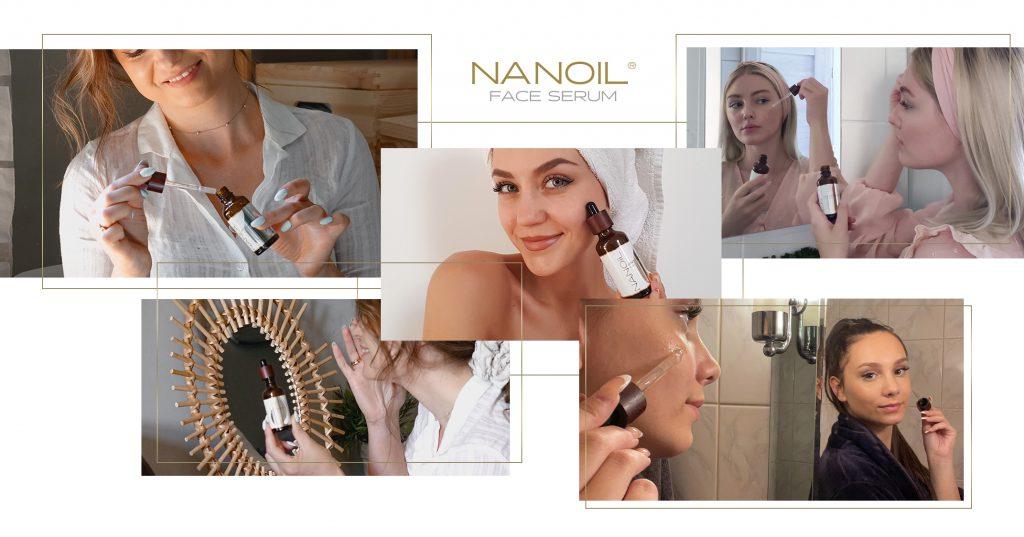 bedste anti-rødme ansigtsserum Nanoil